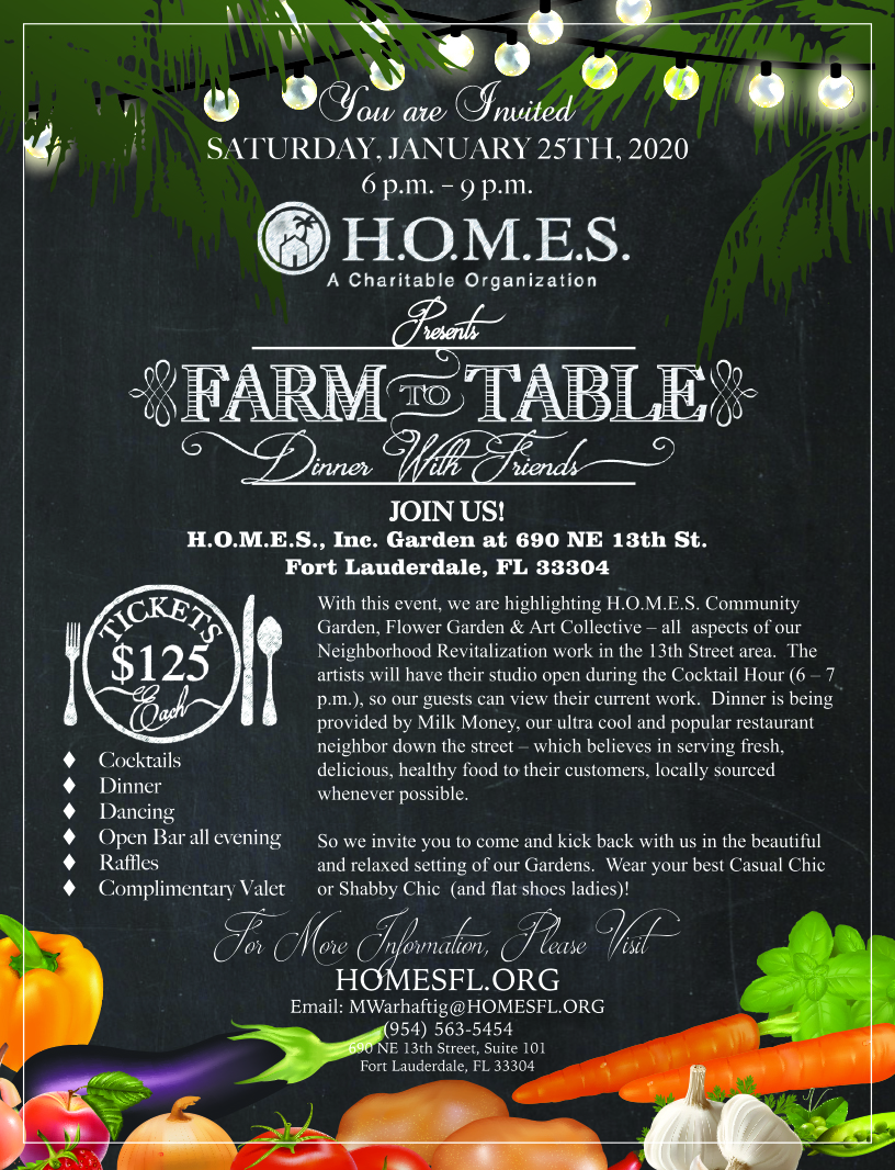 Farm to Table – Homes Inc.