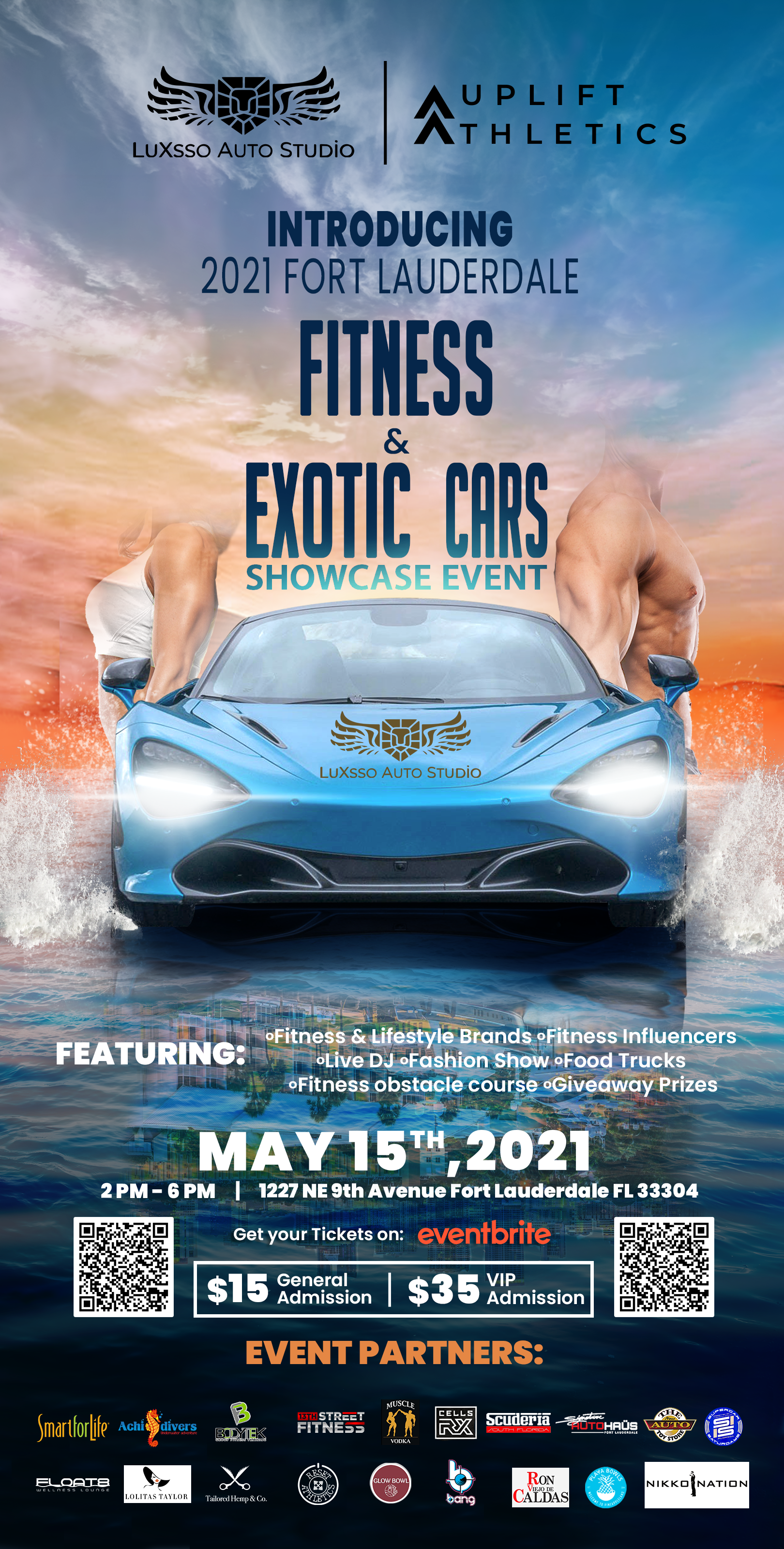 Flyer - Fitness and Exotic Cars