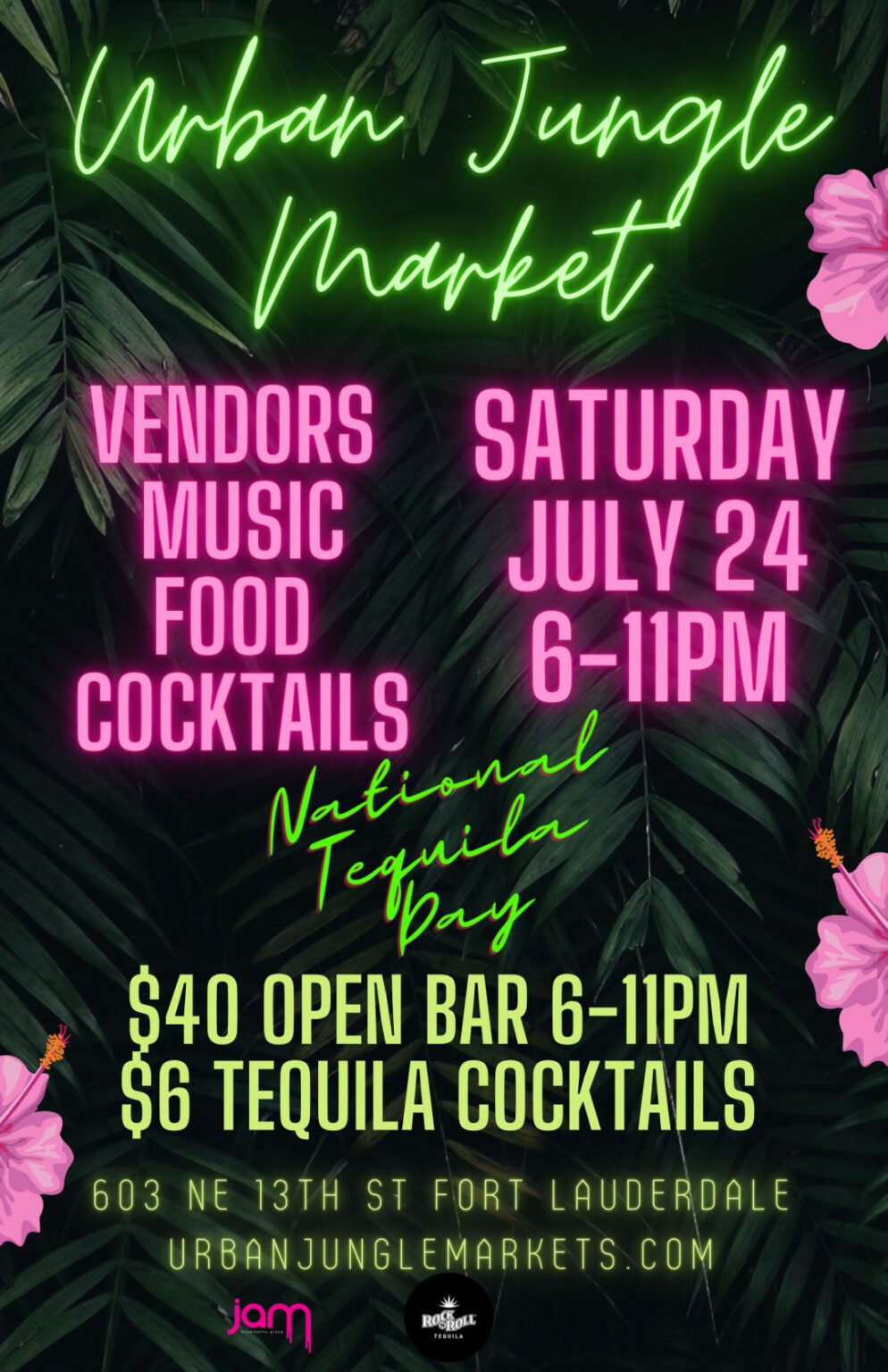 Urban Jungle Market – July 24, 2021