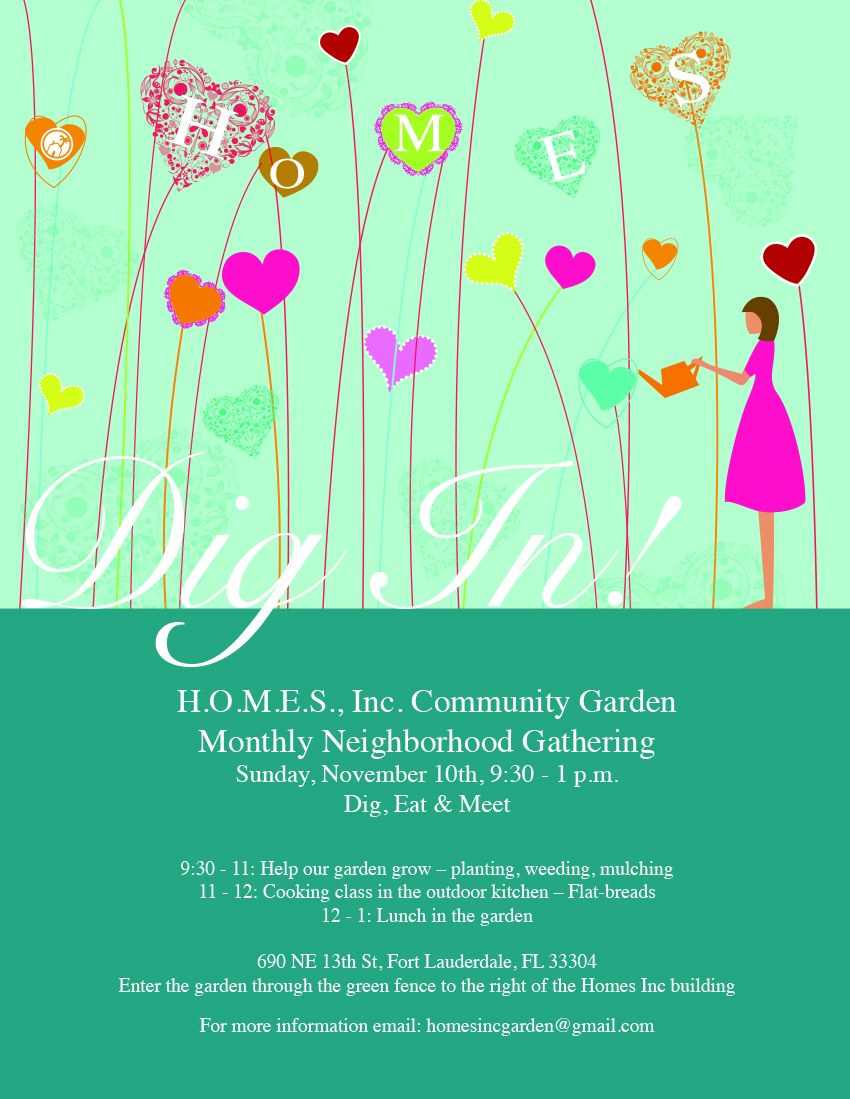Dig, Eat, and Meet – A Community Garden Event